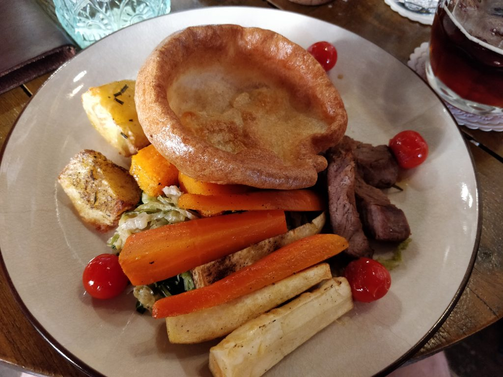 Sunday roast at Mr Fogg's Tavern