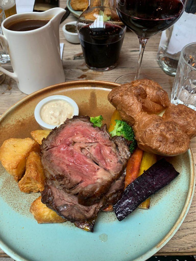 The Grazing Goat, Marylebone, Beef Roast Dinner