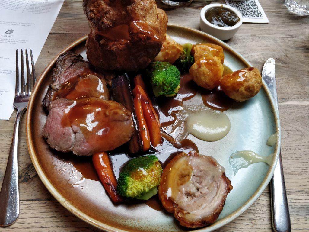 The Grazing Goat, Marylebone, Roast Dinner