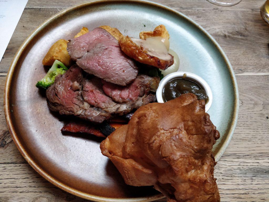 The Grazing Goat, Marylebone, Sunday Roast