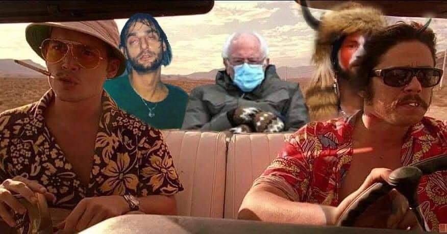 Fear And Loathing In Las Vegas with Bernie Sanders and Ricardo Villalobos