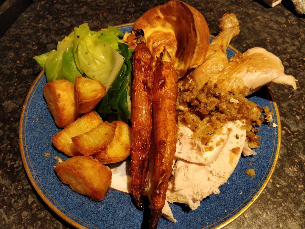 Casa Gravy roast dinner with Townsend Restaurant Sunday Roast kit ingredients