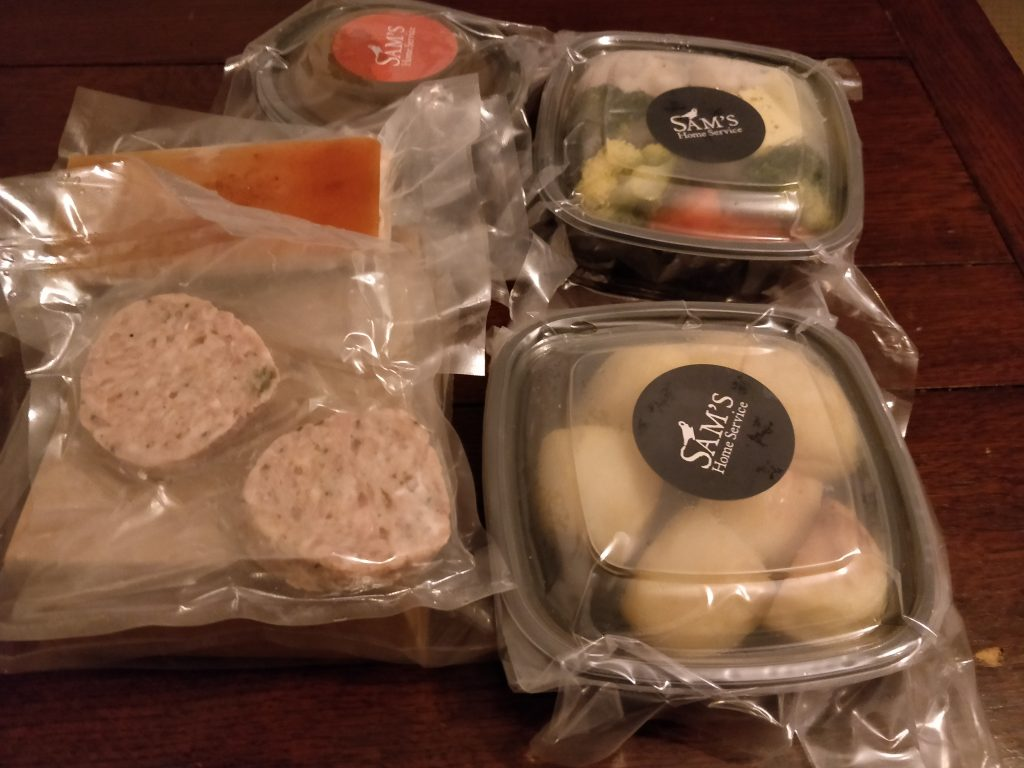 Sam's Chop Shop Roast Dinner kit