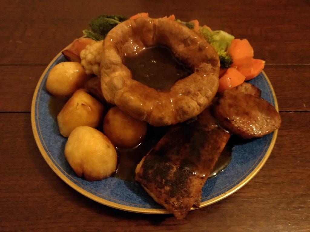 Sam's Chop Shop Roast Dinner