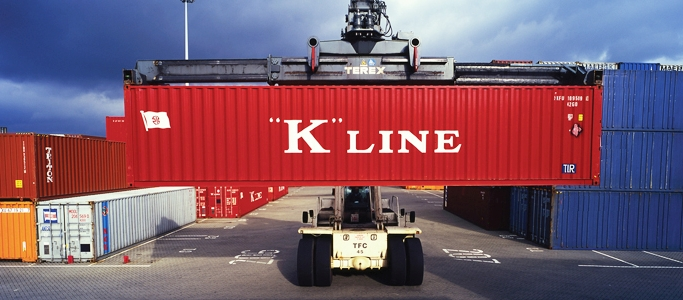 K-line shipping container