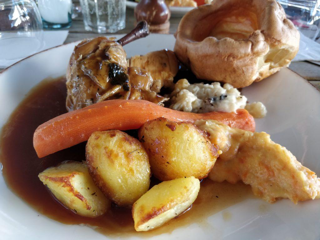 The Red Lion, Barnes, Roast Dinner