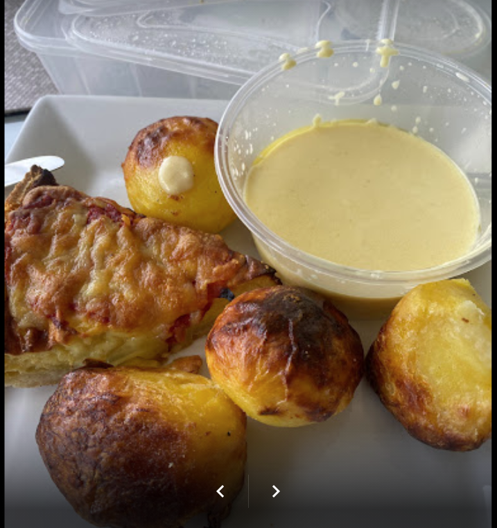 Crappy roast potatoes on Google review