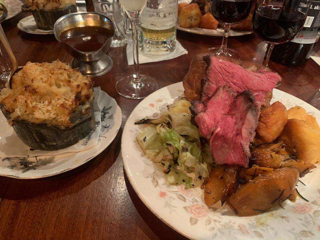 Blacklock, Soho, Roast dinner - decent photograph