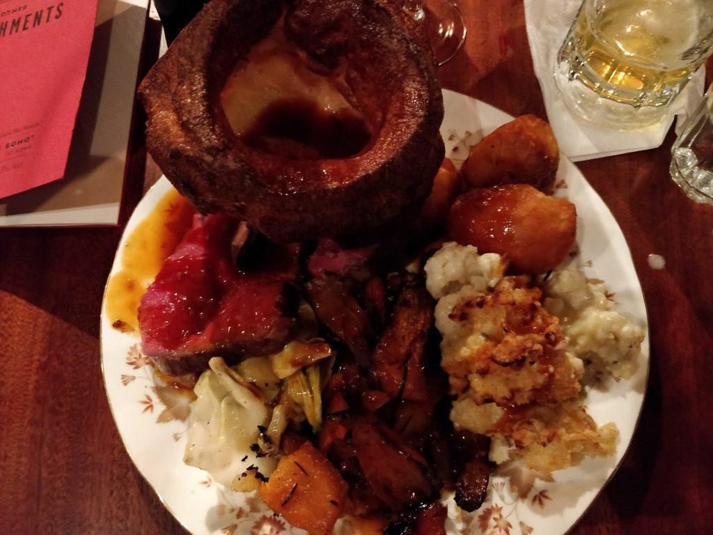 Blacklock, Soho, Sunday roast