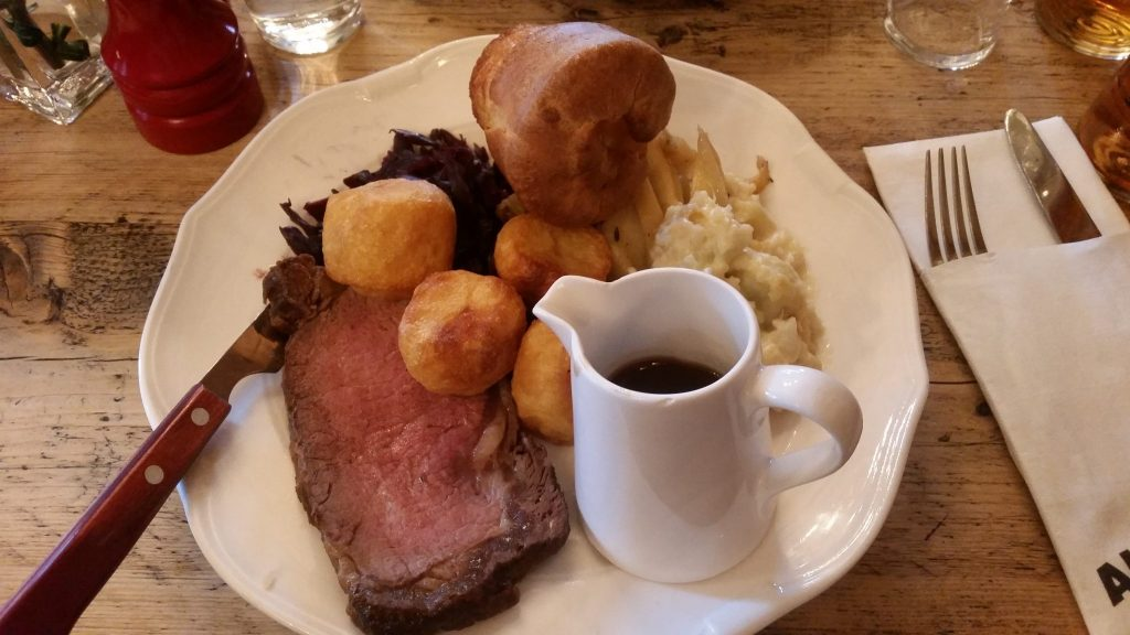 Awful roast dinner from The Red Lion in Westminster