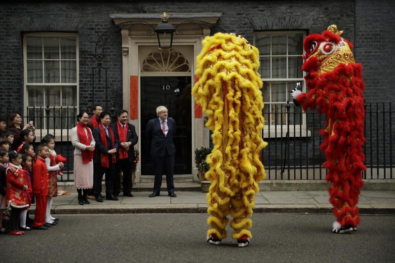 Boris Johnson on Chinese New Year