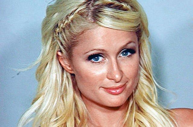 Paris Hilton.  Not on drugs.