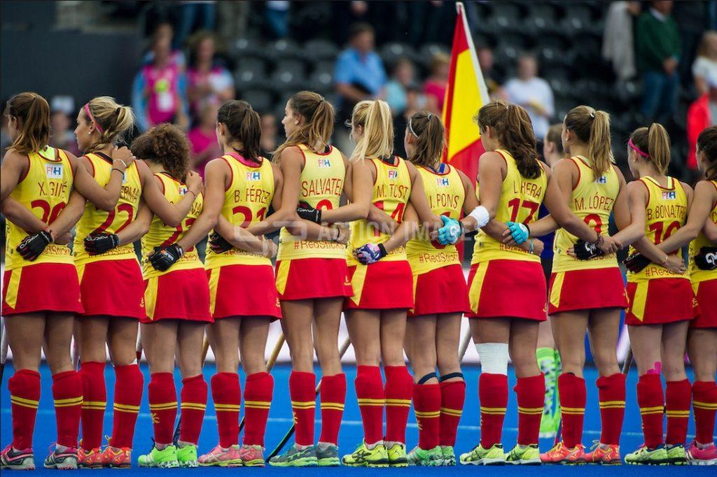 Spanish women's hockey team