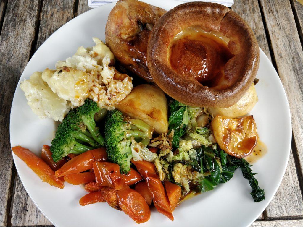 The Duchy Arms, Kennington, Roast Dinner